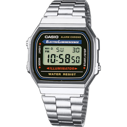 Montre Casio reference A168WA-1YES pour Homme Femme