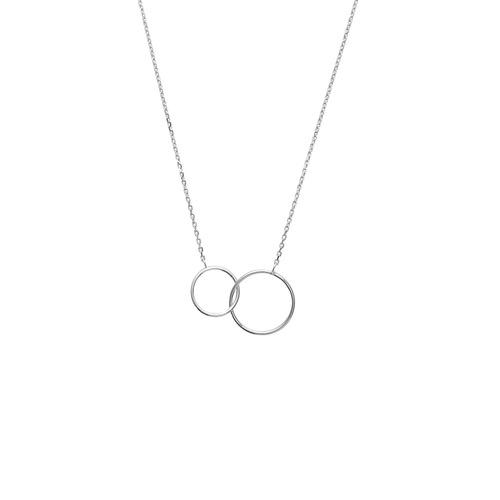 Collier motif cercle  en Argent 925 /1000