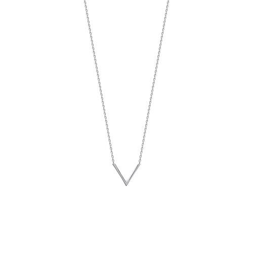 """Collier motif """"V""""  en Argent 925 /1000"""
